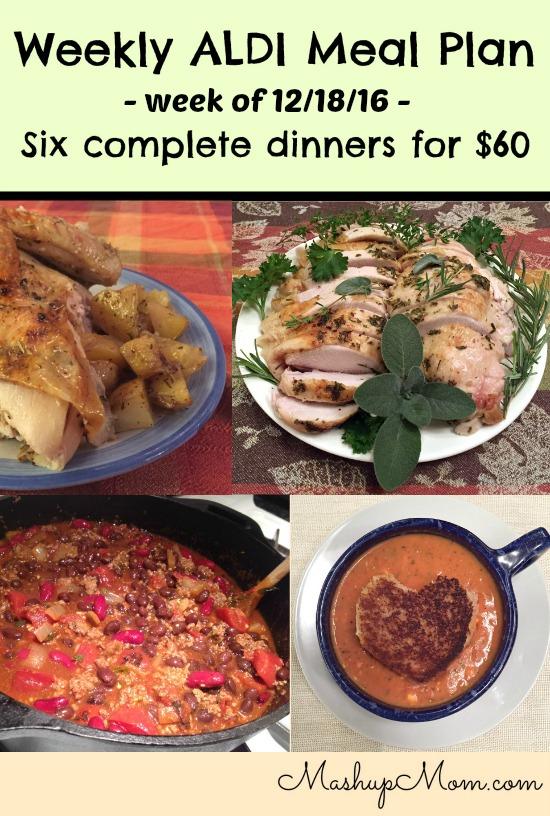 weekly aldi meal plan