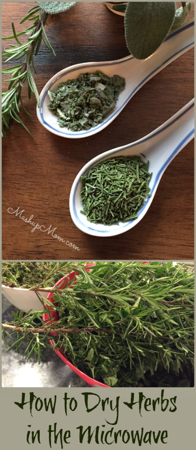How To Dry Herbs In The Microwave