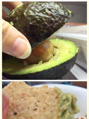 How to Save half an Avocado — Plus Quick not-Guac!