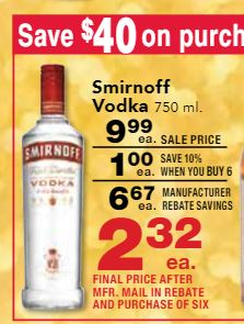 Smirnoff flavored vodka coupons - Renu coupons 2018