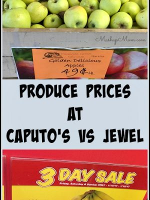 Produce Prices at Caputo's vs Jewel: A Snapshot