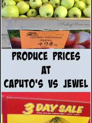 Produce Prices at Caputo's vs Jewel: A Snapshot