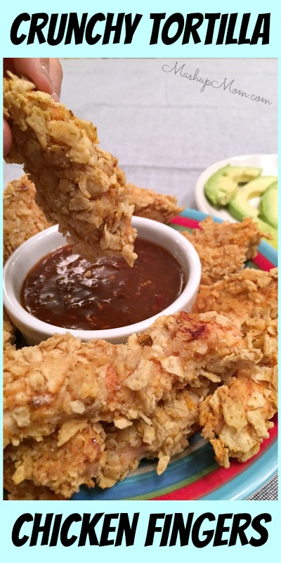 tortilla chicken fingers