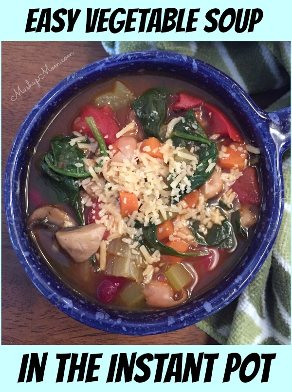 instant pot vegetable soup