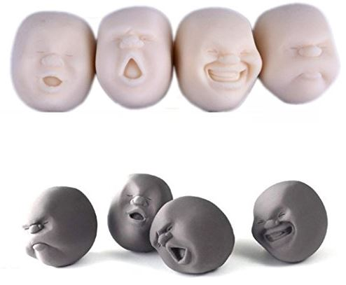 Amazon Oddities 2 21 17 Face Stress Ball