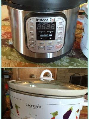 Five Reasons Why my Instant Pot will never replace my Crock-Pot