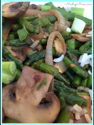 Asparagus Mushroom Stir Fry — A Meatless Monday Recipe