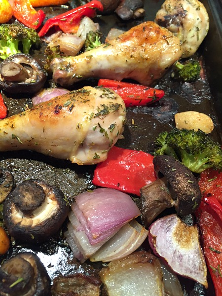 recipe: roasted drumsticks and vegetables [19]