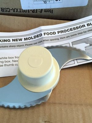 My Cuisinart Food Processor Replacement Blade FINALLY came!