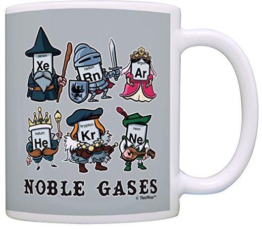 Amazon Oddities 4/1/17 - Noble Gases Mug - Mashup Mom