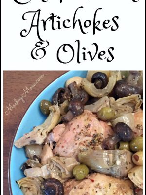 Slow Cooker Chicken with Artichokes & Olives