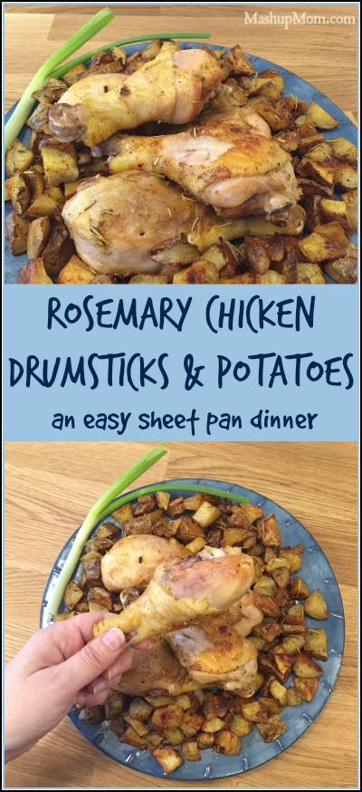 rosemary chicken drumsticks and potatoes