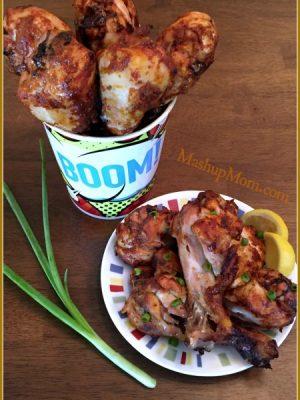 Yogurt-Marinated Chicken Drumsticks