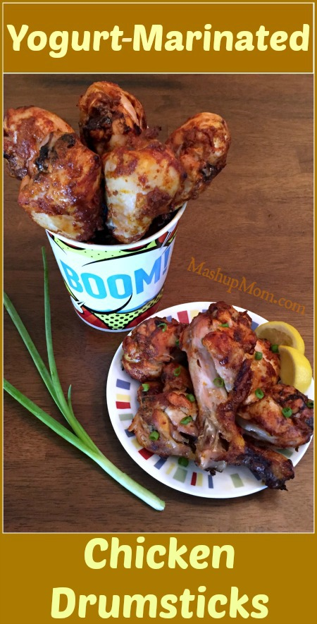 yogurt-marinated chicken drumsticks