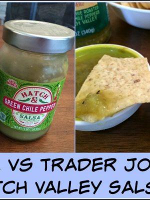 ALDI vs Trader Joe's: Hatch Valley Salsa