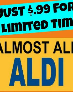 Almost All ALDI is ON SALE for just $.99 this week!