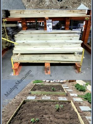 DIY Garden Bed Kit — Use fence boards to make one on the cheap!
