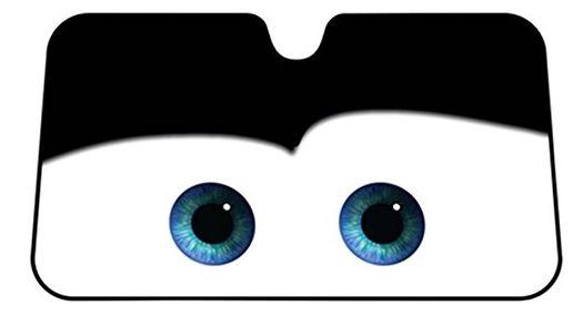 Windshield Sun Shade >> Quirky Finds 5/4/17 -- Cartoon Eyes Car Shade Sun Visor