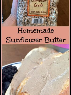 Homemade Sunflower Butter (Make It or Buy It?)
