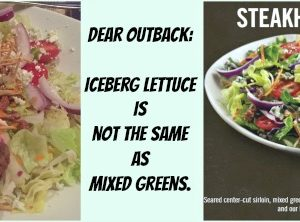 Dear Outback Steakhouse…