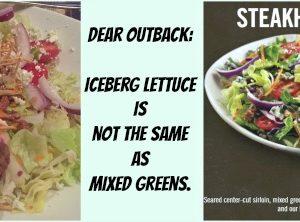 Dear Outback Steakhouse…