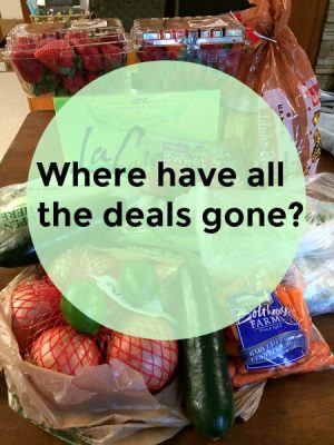 Where have all the deals gone… Long time posting…