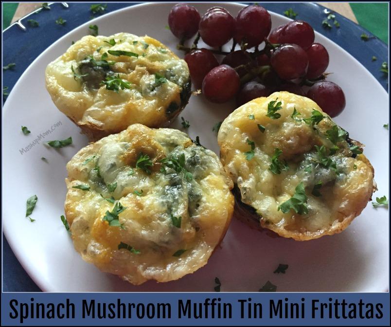 muffin tin mini frittatas