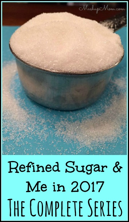 refined sugar and me