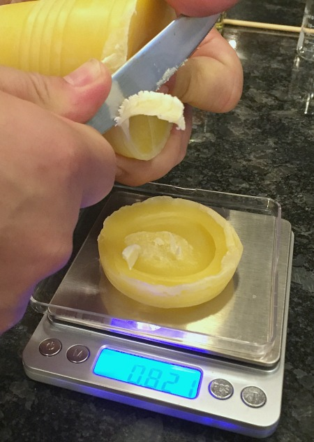 how to make lip balm out of beeswax