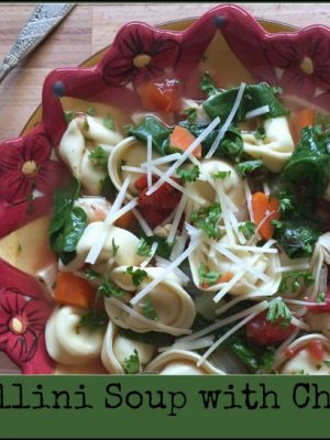 Tortellini Soup with Chicken