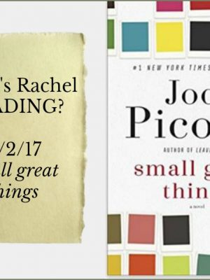 What's Rachel Reading? Small Great Things