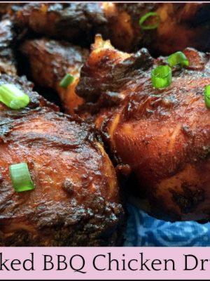 Oven Baked BBQ Chicken Drumsticks