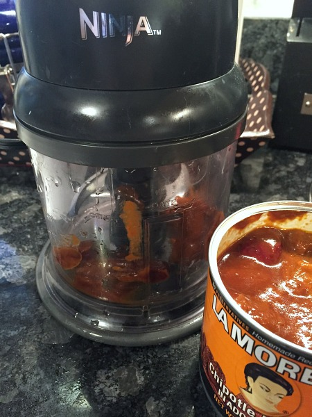 chop chipotle peppers