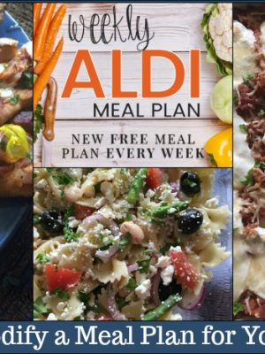 How to Modify a Meal Plan for Your Family
