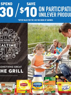 Save on Summer Grilling with Unilever at Jewel-Osco
