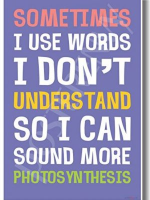 Quirky Finds 7/13/17 — Words I Don't Understand Sign