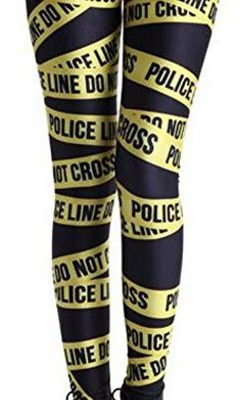 Quirky Finds 7/12/17 — Police Line Do Not Cross Leggings
