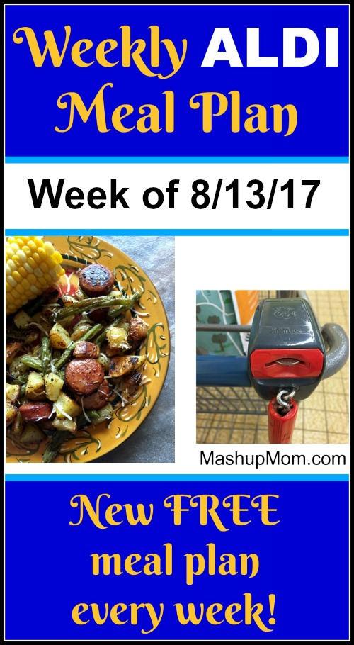free weekly aldi meal plan