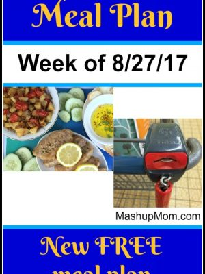 Free ALDI Meal Plan week of 8/27/17 – 9/2/17