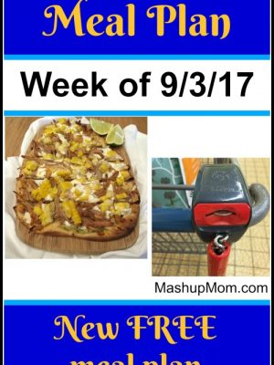 Free ALDI Meal Plan week of 9/3/17 – 9/9/17
