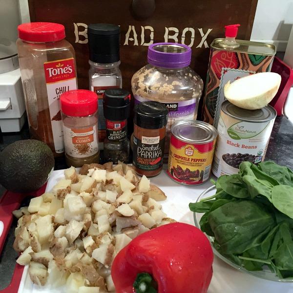 potato tacos ingredients