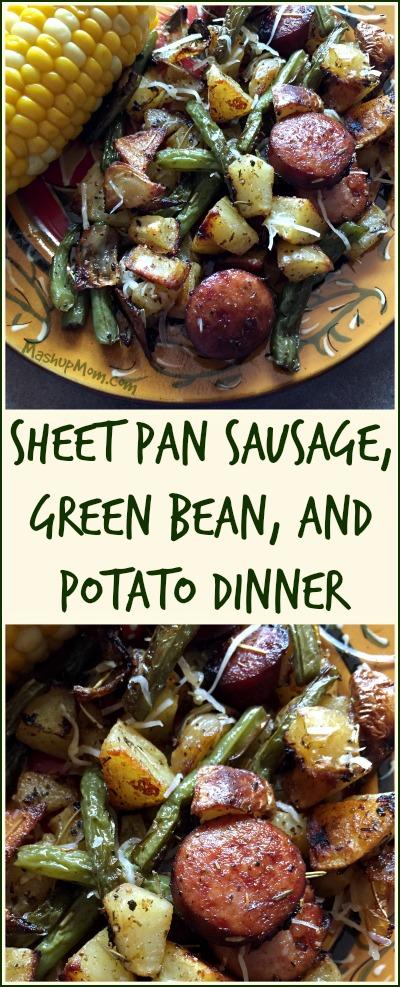 sheet pan sausage