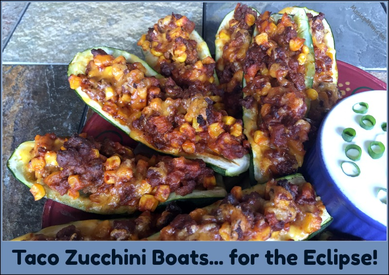 taco zucchini boats are naturally gluten free