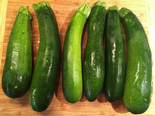 zucchini in this week's ALDI meal plan