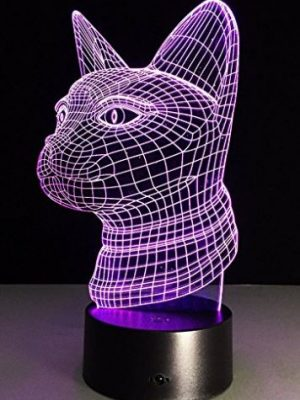 Quirky Finds 9/14/17 — Glowing Color Changing 3D Cat Head Sculpture Lamp Thing