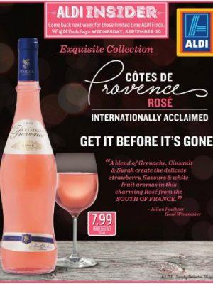 An ALDI Rosé Review
