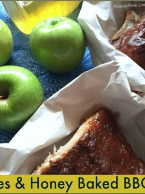 Apples & Honey Baked BBQ Ribs