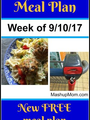 Free ALDI Meal Plan week of 9/10/17 – 9/16/17