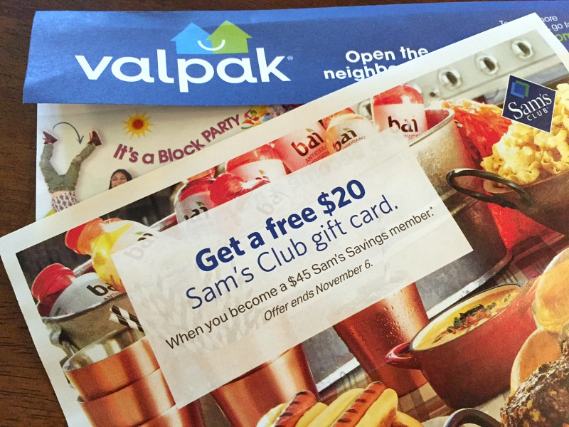 open this month s valpak for a sam s club deal and more