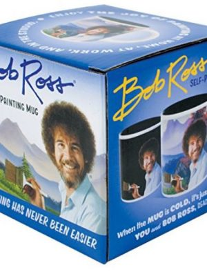 Quirky Finds 10/15/17 — Bob Ross Self-Painting Mug